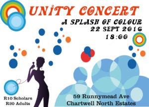 Unity College Concert 2016