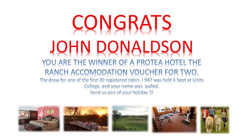 John Donaldson_Protea_1of1st20RegisteredRiders