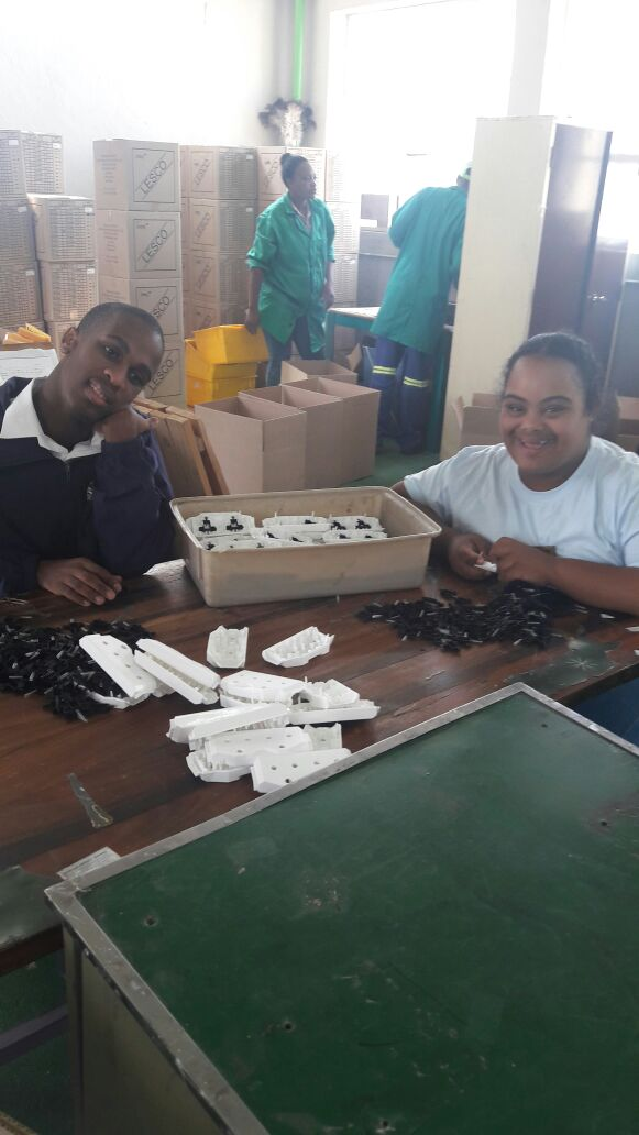 The production of Lesco electrical products