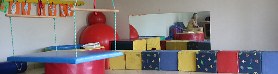 Occupational therapy equipment at Unity College