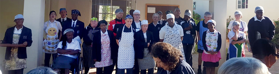 Vocational kitchen grand opening