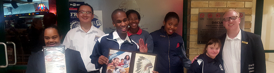 Unity College learners job shadowing at Spur