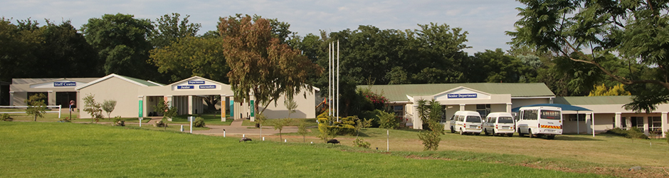 Unity College premises and buses