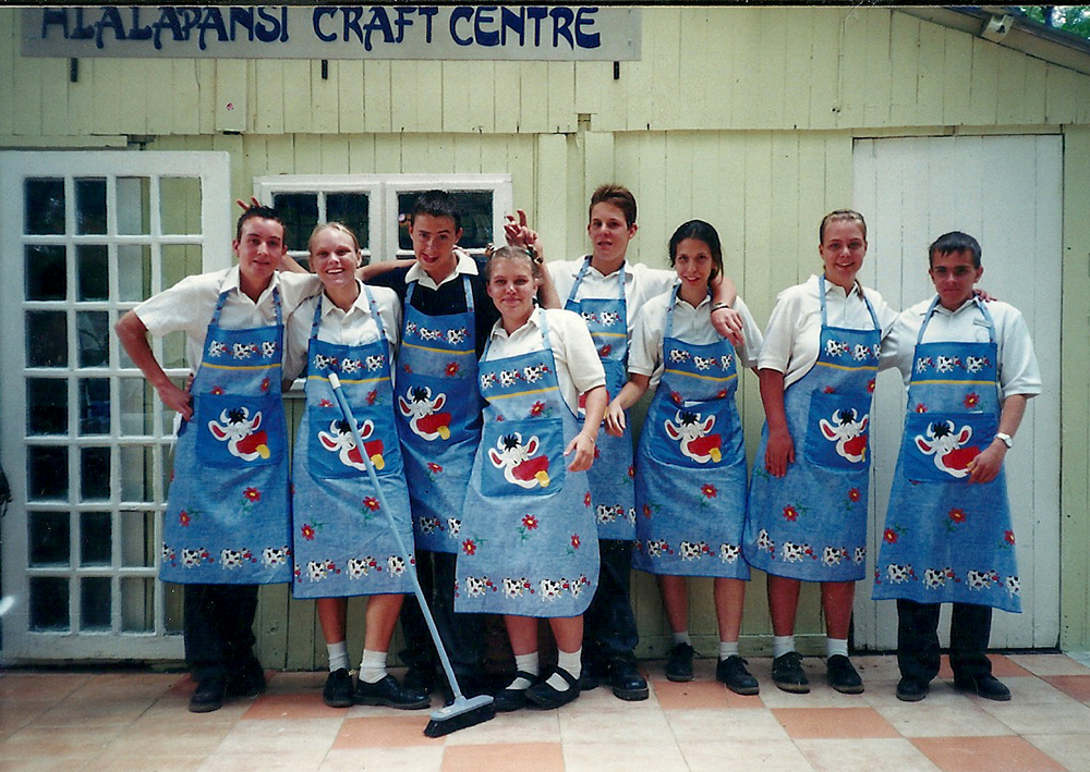 Hlalapansi Craft Centre at Cedar Road premises 2001