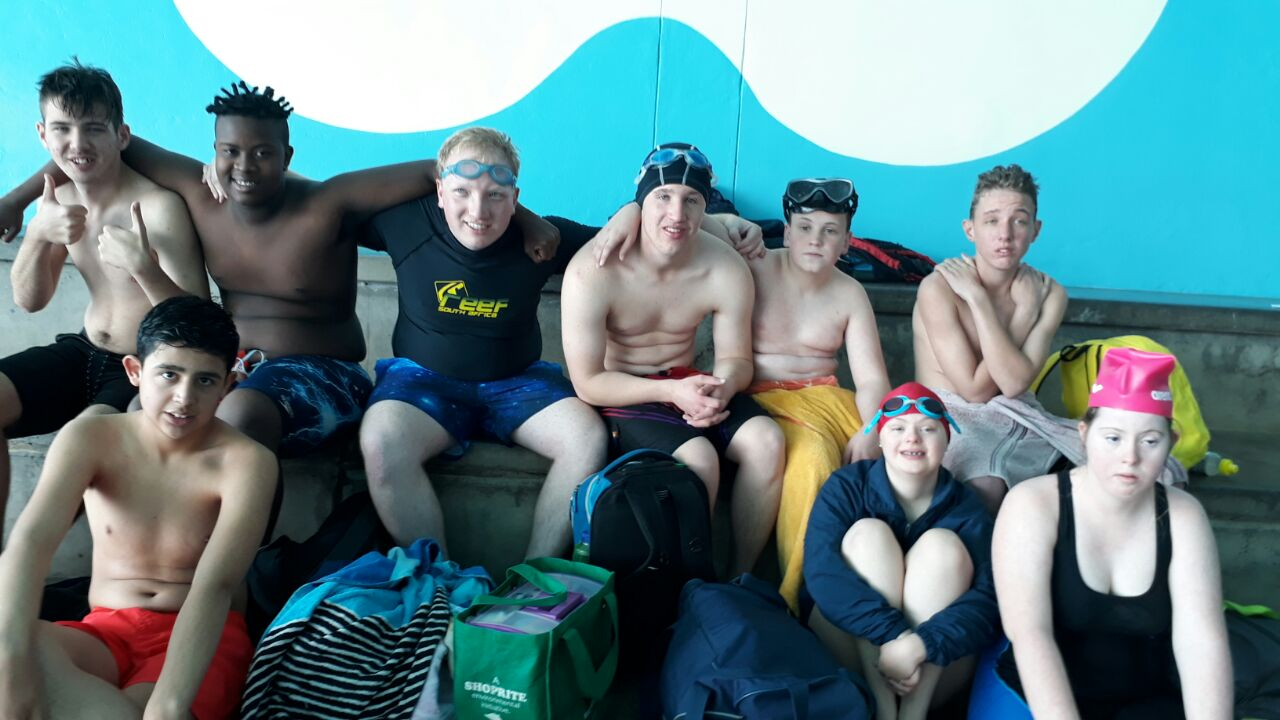 Special Olympics swimming gala 13 August 2018
