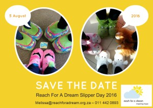 Slipper Day 2016 - Save the Date