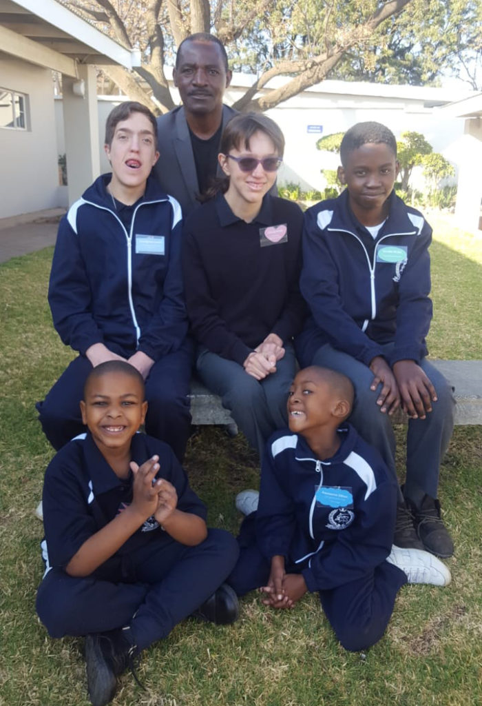 Group of special needs learners