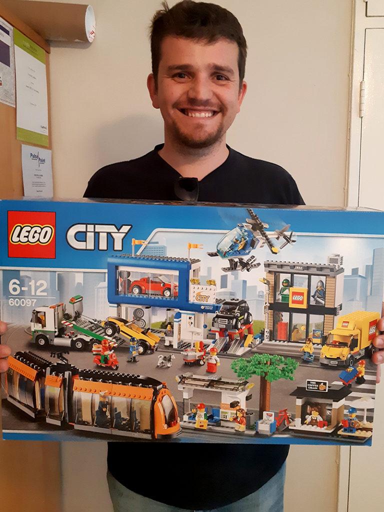 Lego prize winner