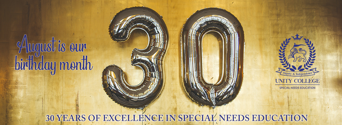 Unity College is 30 years old