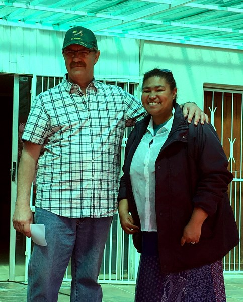 Mr Deon Visser and Madeleine Sharp also celebrated their birthdays